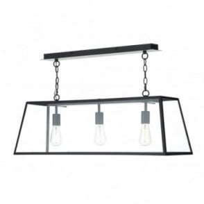 ACADEMY - 3 Light Ceiling Pendant (Black)