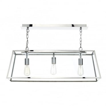 ACADEMY - 3 Light Ceiling Pendant (Steel)