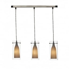 BODA - 3 Light Bar Pendant Suspension
