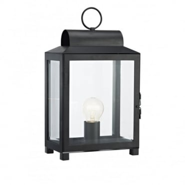 BOX - Traditional Metal Table Lamp (Black)