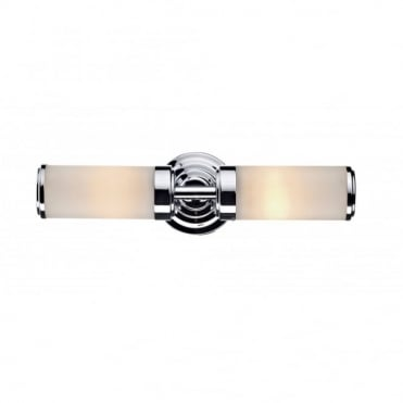 CENTURY - Bathroom Double Wall Bracket Polished Chrome Ip44
