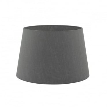 CEZANNE - French Drum Shade 35Cm Grey Grey