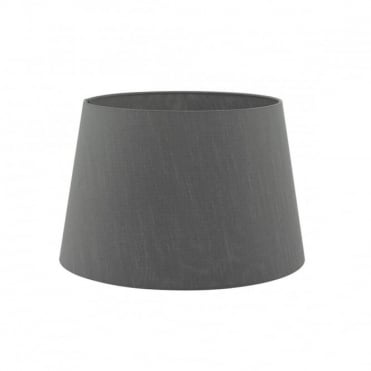 CEZANNE - French Drum Shade 40Cm Grey Grey