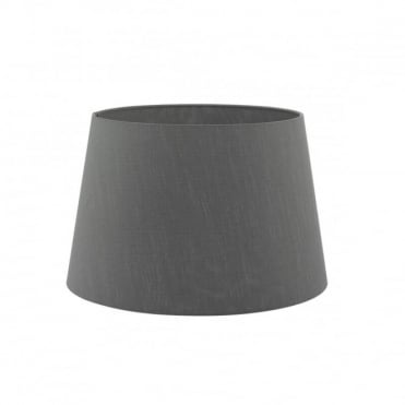 CEZANNE - French Drum Shade 45Cm Grey Grey