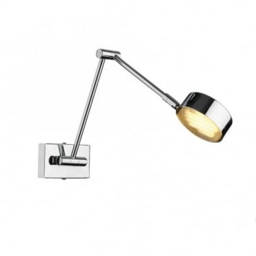 CRUISE - Led Adjustable Chrome Wall Light