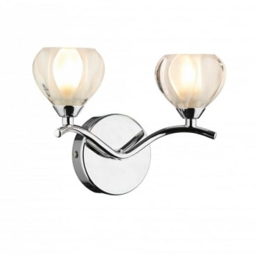 CYNTHIA - Compact Chrome Wall Light
