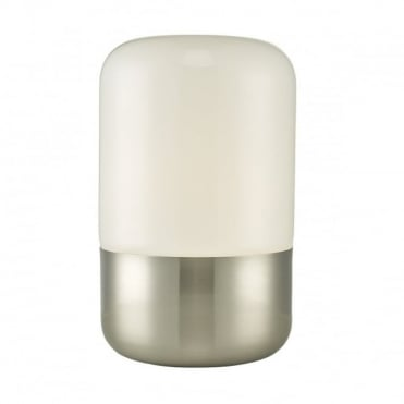 DEACON - Touch Lamp in Satin Nickel