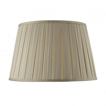 DEGAS - Empire Box Pleated Shade 40Cm Taupe Taupe