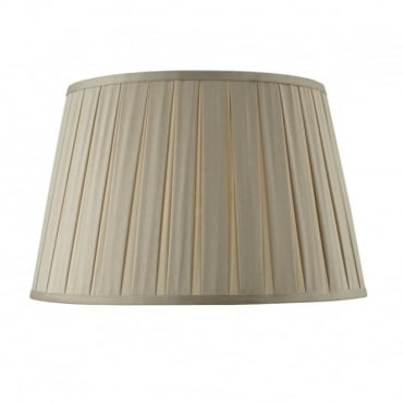 DEGAS - Empire Box Pleated Shade 45Cm Taupe Taupe