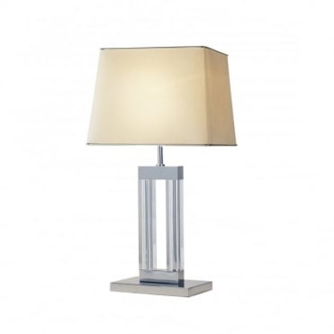 DOMAIN - Modern Quartz Glass Table Lamp With Shade