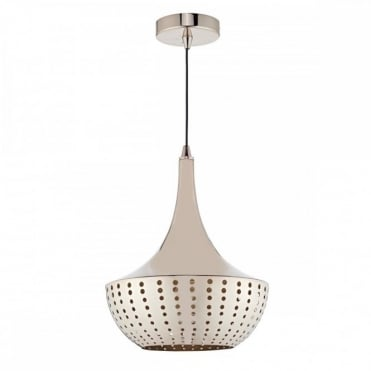 DOT - 1 Light Ceiling Pendant Bronze