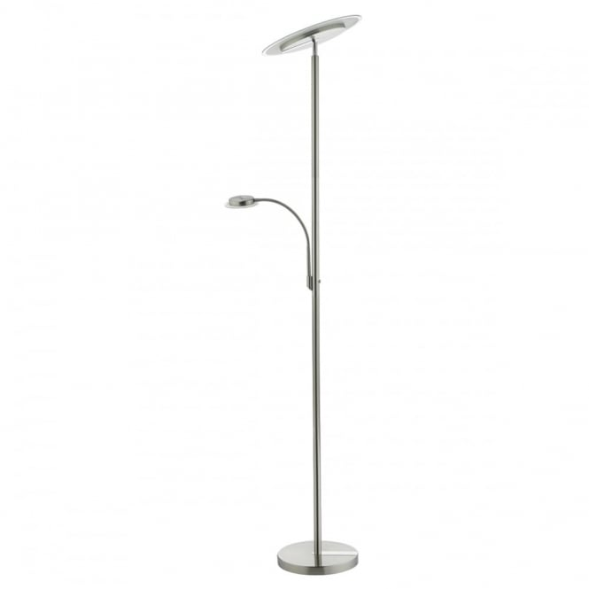DUISBURG - LED Mother And Child LED Floor Lamp In Nickel