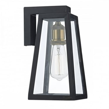 DUVAL - Exterior 1 Light Wb Down/Lt Black Ip43