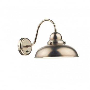 DYNAMO - Retro Style Antique Chrome Wall Light
