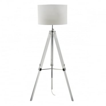 EASEL - Tripod Floor Lamp C/W Shade