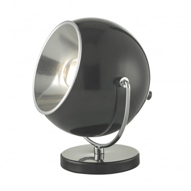 EBBA - Table Lamp in Black and Chrome