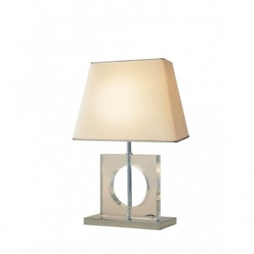 ECO - Modern Quartz Glass Table Lamp With Shade