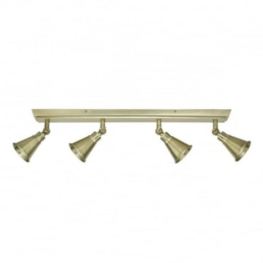 EDO - 4 Light Bar Antique Brass Antique Brass