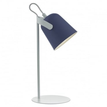 EFFIE - Task Lamp in Blue and White