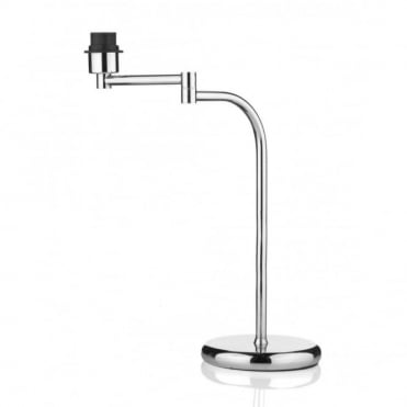 FELIX - Single Swivel Table Lamp Base Only Polished Chrome
