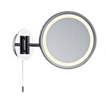 GIBSON - Bathroom Illuminated Vanity Mirror With Pull Switch