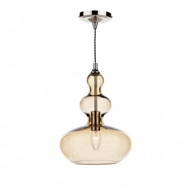 GOA - Gold Glass Ceiling Pendant Light