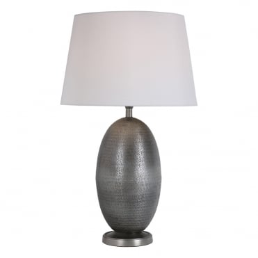 GOSTA Table Lamp Antique Silver Base Only