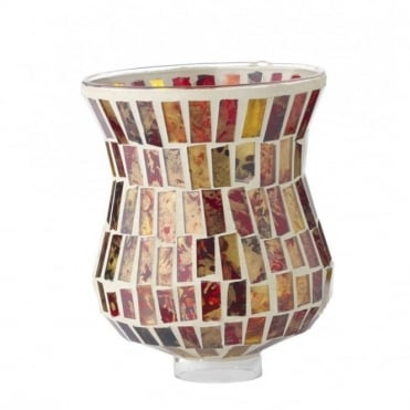 HARLEQUIN - Spare Red Mosaic Glass Light Shade