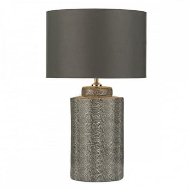 IGOR - Table Lamp Grey Stingray Base With Shade