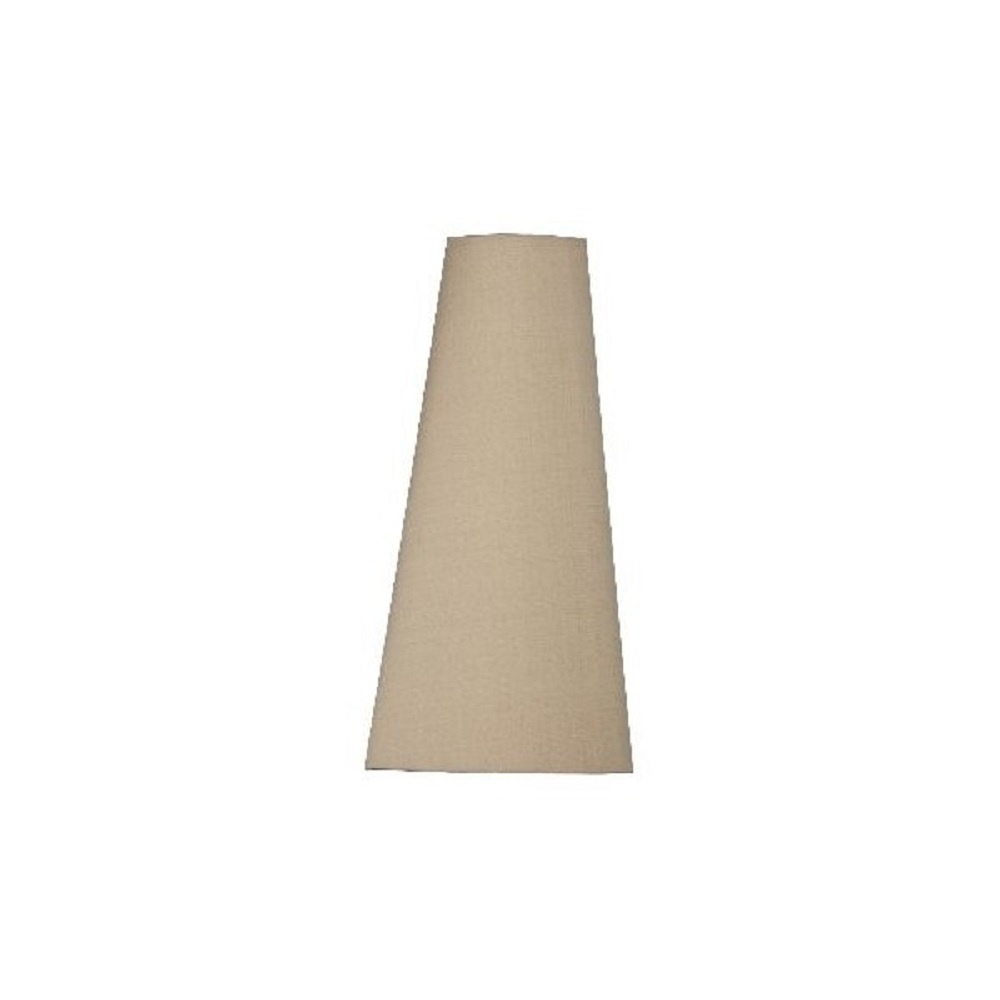 Impala Cone Shaped Silk Lamp Shade In Tan Colour