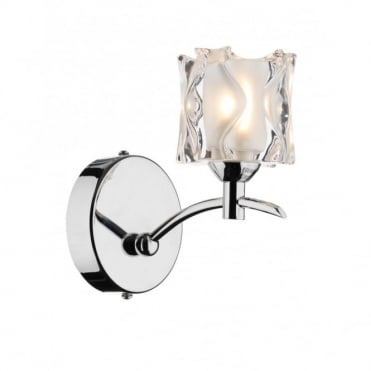JACOB - Double Insulated Chrome Wall Light