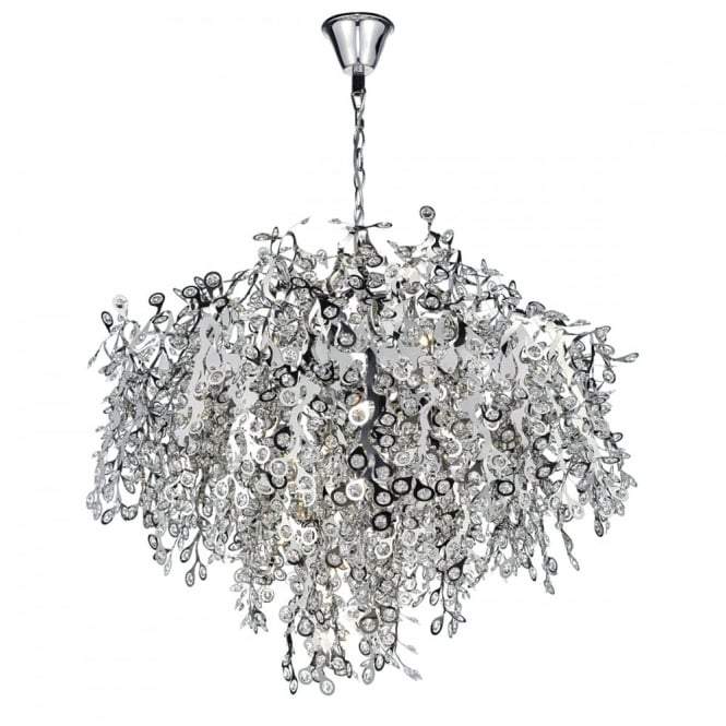 KONSTANTINA - 13 Light Ceiling Pendant Polished Chrome