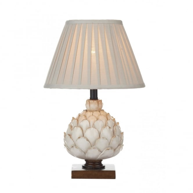 LAYER - Artichoke Cream Table Lamp With Shade