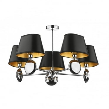LEXINGTON - Modern Ceiling Light Chrome