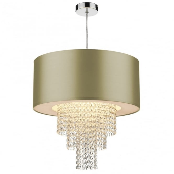 Ceiling Lamp Shade Doesn T Fit: Decorative Non Electric Gold Ceiling Pendant Shade W