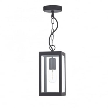 LOTUS - Traditional Black Ceiling Pendant