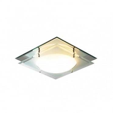 MANTRA - Square Ip44 Bathroom Ceiling Light