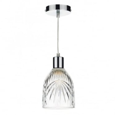 MOTIF - Non Electric Clear Pendant