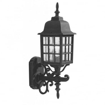 NORFOLK - Exterior Traditional Black Garden Lantern