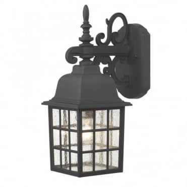 NORFOLK - Exterior Traditional Black Garden Wall Lantern