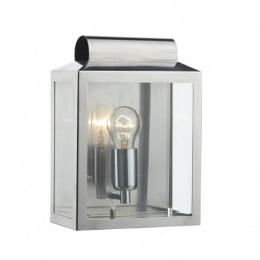 NOTARY - Exterior Stainless Steel Traditional Ip44 Wall Light