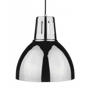 OSAKA - Easy Fit Non Electric Chrome Ceiling Pendant