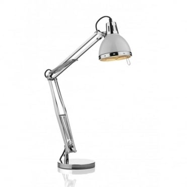 OSAKA - Table Lamp Body Only Polished Chrome