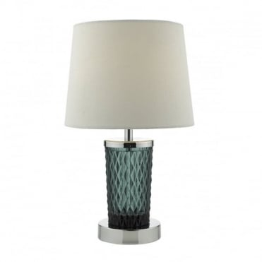 PIXIE - Teal C/W Shade Table Lamp