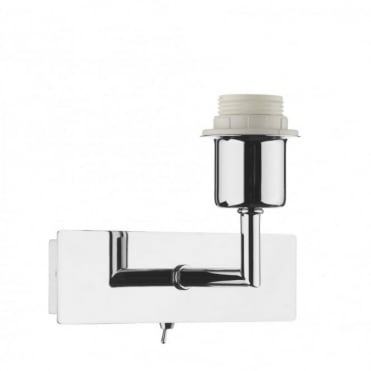 PIZA - Chrome Wall Light Bracket