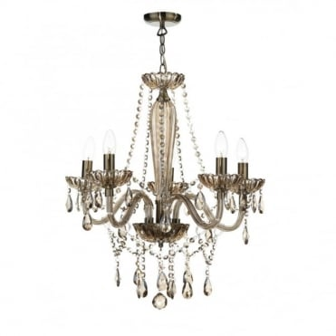 RAPHAEL - Chandelier Double Insulated Decorative Champagne Glass