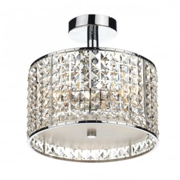 RHODES - Crystal Bathroom Ceiling Light