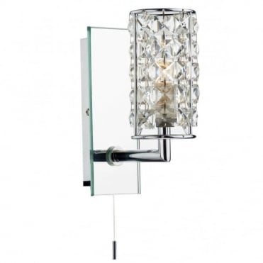 RHODES - Crystal Bathroom Wall Light
