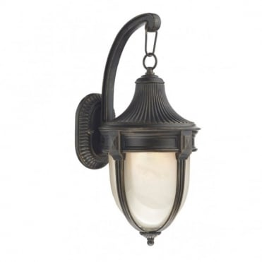 RICHMOND - Traditional Black/Gold Garden Lantern