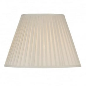RUSSET - Cream Pleated Table Lamp Shade